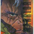 Marvel Masterpieces 1995 Emotion #13 Gold Foil Card Cable