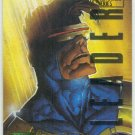 Marvel Masterpieces 1995 Emotion #22 Gold Foil Card Cyclops