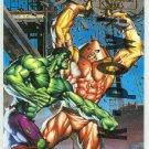 Marvel Masterpieces 1995 Emotion #41 Gold Foil Card Hulk