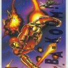 Marvel Masterpieces 1995 Emotion #53 Gold Foil Card Iron Man