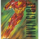 Marvel Masterpieces 1995 Emotion #54 Gold Foil Card Iron Man