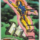 Marvel Masterpieces 1995 Emotion #55 Gold Foil Card Jean Grey