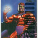 Marvel Masterpieces 1995 Emotion #62 Gold Foil Card Magneto