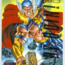 Marvel Masterpieces 1995 Emotion #105 Gold Foil Card Thor
