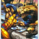 Marvel Masterpieces 1995 Emotion #113 Gold Foil Card Wolverine