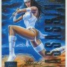 Marvel Masterpieces 1995 Emotion #124 Gold Foil Card Elektra