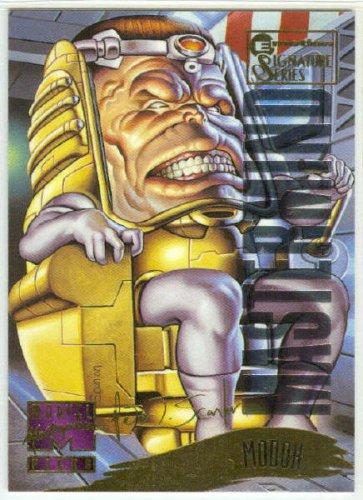 Marvel Masterpieces 1995 Emotion #133 Gold Foil Card Modok