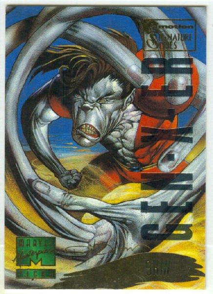 Marvel Masterpieces 1995 Emotion #146 Gold Foil Card Skin
