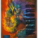 Marvel Masterpieces 1995 Emotion #149 Gold Foil Card Tyrant