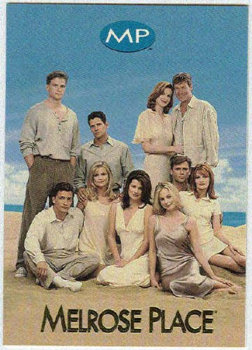 Melrose Place 1996 Promo #P Blue Trading Card