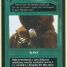 Star Wars CCG Caller Uncommon Dark Side Game Card