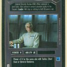 Star Wars CCG Colonel Wullf Yularen Uncommon Game Card