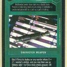 Star Wars CCG Dark Jedi Lightsaber Uncommon Game Card