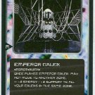 Doctor Who CCG Emperor Dalek Rare Game Trading Card
