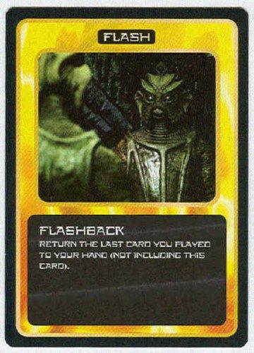 Doctor Who CCG Flashback Rare Black Border Game Card