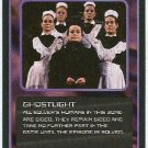 Doctor Who CCG Ghostlight Rare Black Border Game Card