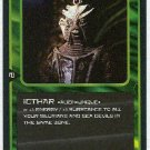 Doctor Who CCG Icthar Rare Black Border Game Trading Card