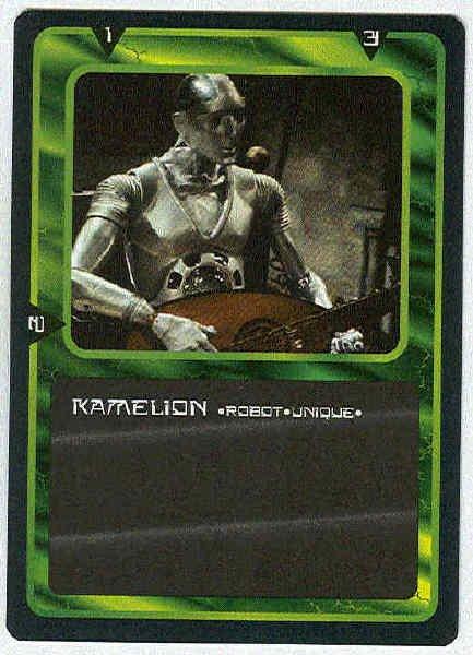 Doctor Who CCG Kamelion Rare Black Border Game Card