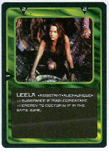 Doctor Who CCG Leela Rare Game Card Louise Jameson