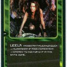 Doctor Who CCG Leela Rare Game Card Louise Jameson
