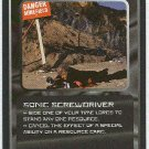 Doctor Who CCG Sonic Screwdriver Rare Black Border Game Card