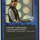 Doctor Who CCG Vislor Turlough Rare Card Mark Strickson