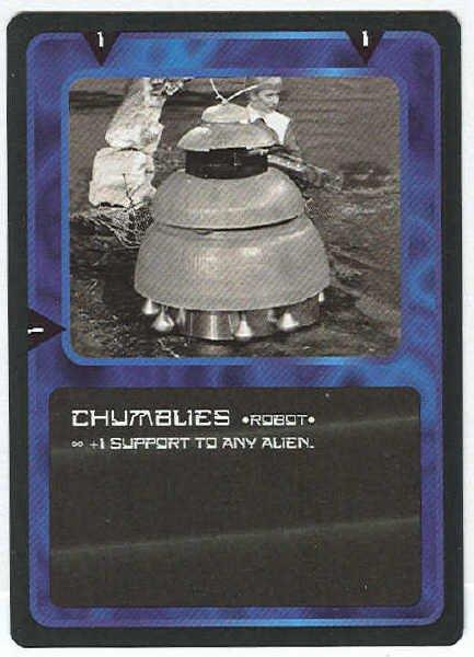 Doctor Who CCG Chumblies Black Border Game Card