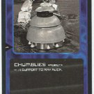 Doctor Who CCG Chumblies Black Border Game Trading Card