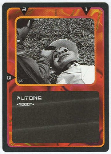 Doctor Who CCG Autons Black Border Game Trading Card