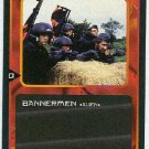 Doctor Who CCG Bannermen Black Border Game Card