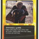 Doctor Who CCG Barbed Wire Black Border Game Card