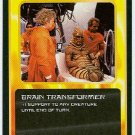 Doctor Who CCG Brain Transformer Black Border Game Card