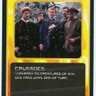 Doctor Who CCG Crusades Black Border Game Trading Card