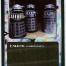 Doctor Who CCG Daleks Black Border Game Trading Card