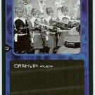 Doctor Who CCG Drahvin Black Border Game Trading Card