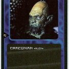 Doctor Who CCG Draconian Black Border Game Card