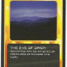 Doctor Who CCG The Eye Of Orion Black Border Game Card