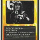 Doctor Who CCG Space Special Security Game Trading Card