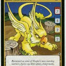 Neopets CCG Base Set #S6/S6 Yellow Eyrie Game Card