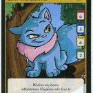 Neopets #160 Blue Wocky Game Card Unplayed