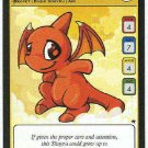 Neopets CCG Base Set #169 Red Shoyru Game Card
