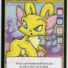 Neopets #170 Yellow Acara Game Card Unplayed