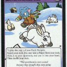 Neopets #184 Capture The Snowbunnies Game Card Unplayed