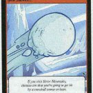 Neopets CCG Base Set #202 Icy Snowball Game Card