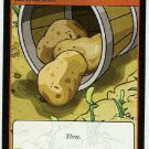 Neopets CCG Base Set #219 Potatoes Game Card