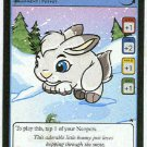Neopets #226 Snowbunny Game Card Unplayed