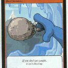 Neopets #228 Stone Snowball Game Card Unplayed