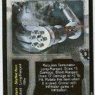 Terminator CCG Arm-Mounted Gatling Gun Rare Game Card Unplayed