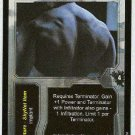 Terminator CCG Augmented Musculature Rare Game Card Unplayed
