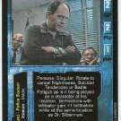 Terminator CCG Dr. Peter Silberman Rare Game Card Unplayed